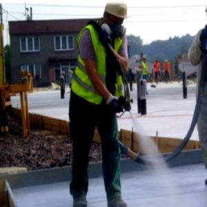 Spraying Chemicals, Waterproofing